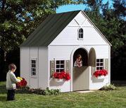 Живописный детский игровой домик